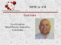 Paul Sedor, MPIF Updated