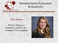 Tess Simon, Kentucky Cabinet for Economic Development
